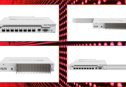 Desktop svič s jednim Gigabit Ethernet portom i osam SFP+ 10Gbps portova